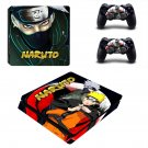 Naruto ps4 slim skin decal for console and controllers