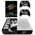 San Antonio Spurs skin decal for Xbox one Slim console and controllers