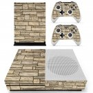 Stone Wall  skin decal for Xbox one Slim console and controllers