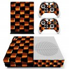 Brick Design skin decal for Xbox one Slim console and controllers