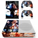 Sword art online skin decal for Xbox one Slim console and controllers