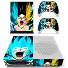 Dragon ball super skin decal for Xbox one Slim console and controllers