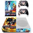 Naruto to Boruto Shinobi Striker skin decal for Xbox one Slim console and controllers