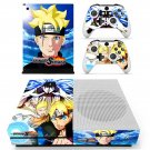 Naruto to Boruto Shinobi Striker skin decal for Xbox one Slim console and controllers