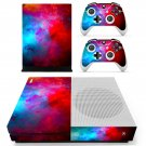 Sky red color skin decal for Xbox one Slim console and controllers