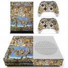Sistine Chapel  painting skin decal for Xbox one Slim console and controllers