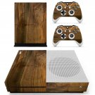 Wooden board skin decal for Xbox one S console and controllers