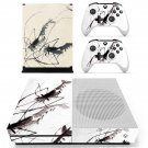 Painting skin decal for Xbox one Slim console and controllers
