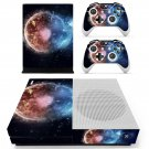 Burning planet skin decal for Xbox one Slim console and controllers