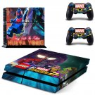 Lego Marvel Super Heroes 2 decal for PS4 PlayStation 4 console and 2 controllers