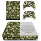 Military Camouflage skin decal for Xbox one Slim console and controllers