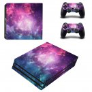 Colorful Galaxy ps4 pro skin decal for console and controllers