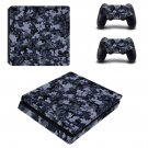 Military Camouflage ps4 slim skin decal for console and controllers