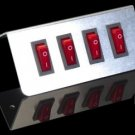 Quad Button Switch Plate