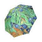 Irises Vincent Van Gogh Foldable Umbrella 8 ribs