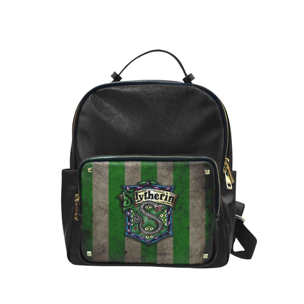 Slytherin Harry Potter Leisure Backpack Bag School Bag (Big)