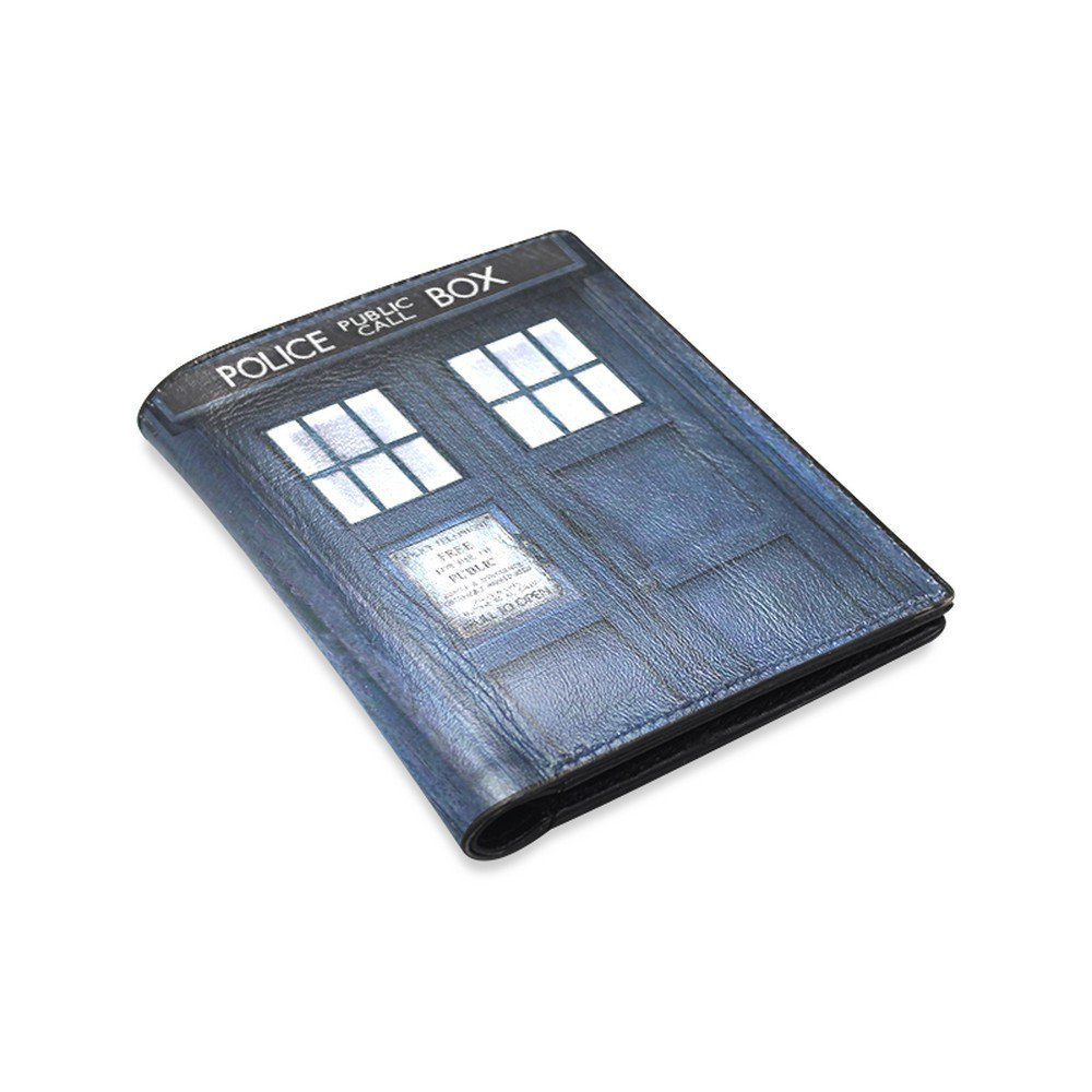 Tardis Police Box Call Booth Leather Wallet