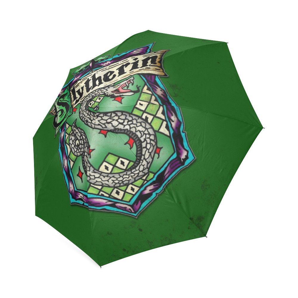 Slytherin Harry Potter Foldable Umbrella 8 ribs