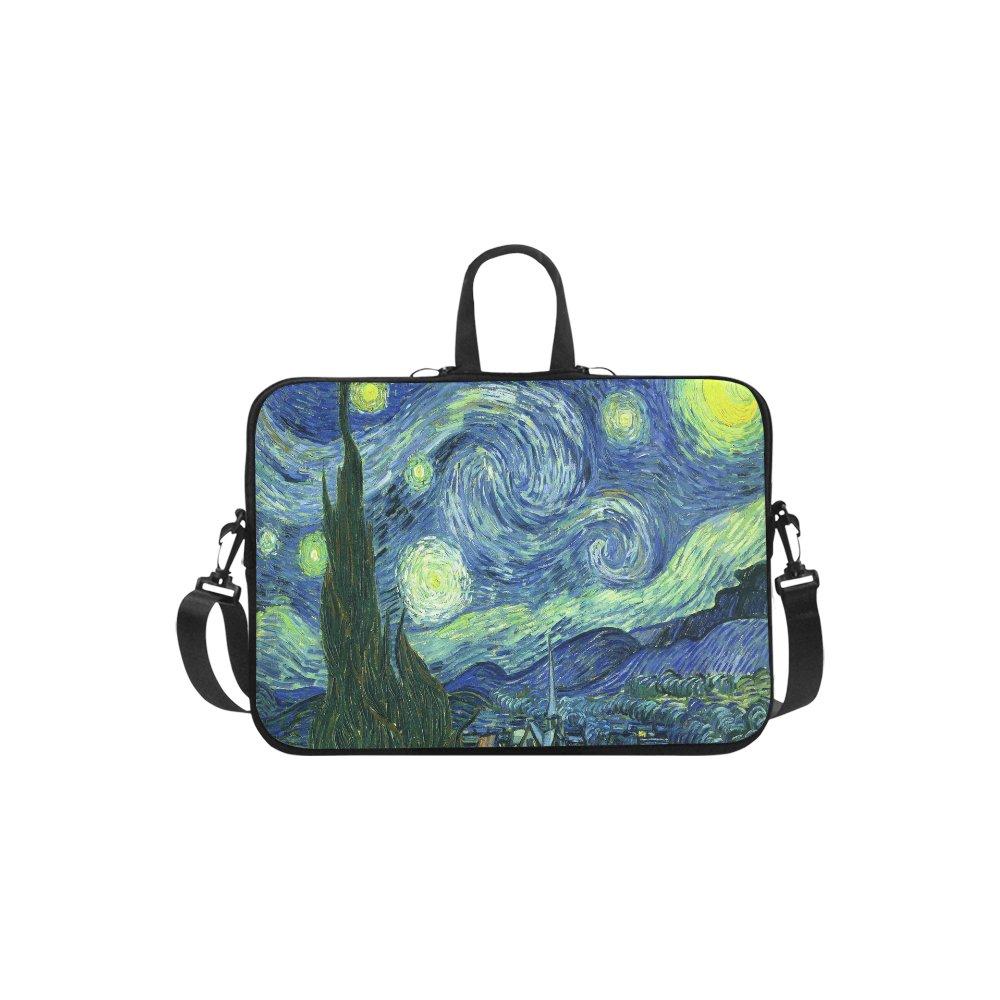 Starry Night Van Gogh Sleeve Case Shoulder Bag for Macbook Pro 13''