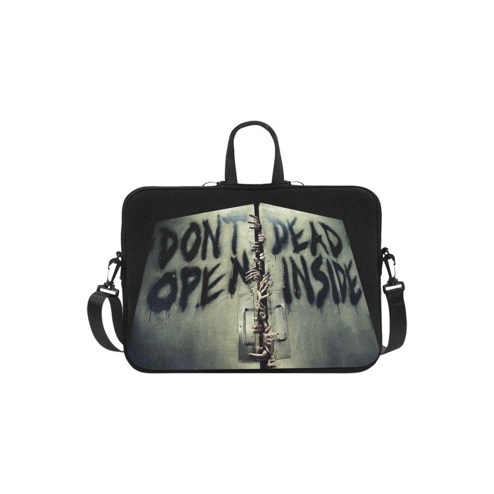 "Walking Dead Don't Open Dead Inside Sleeve Case Shoulder Bag for Laptop 15.6"""