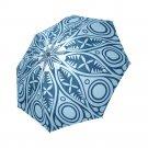 #4 Mandala Lace Ornamental Pattern Foldable Umbrella 8 ribs