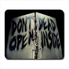 Don't Open Dead Inside The Walking Dead Mousepad Non Slip Neoprene
