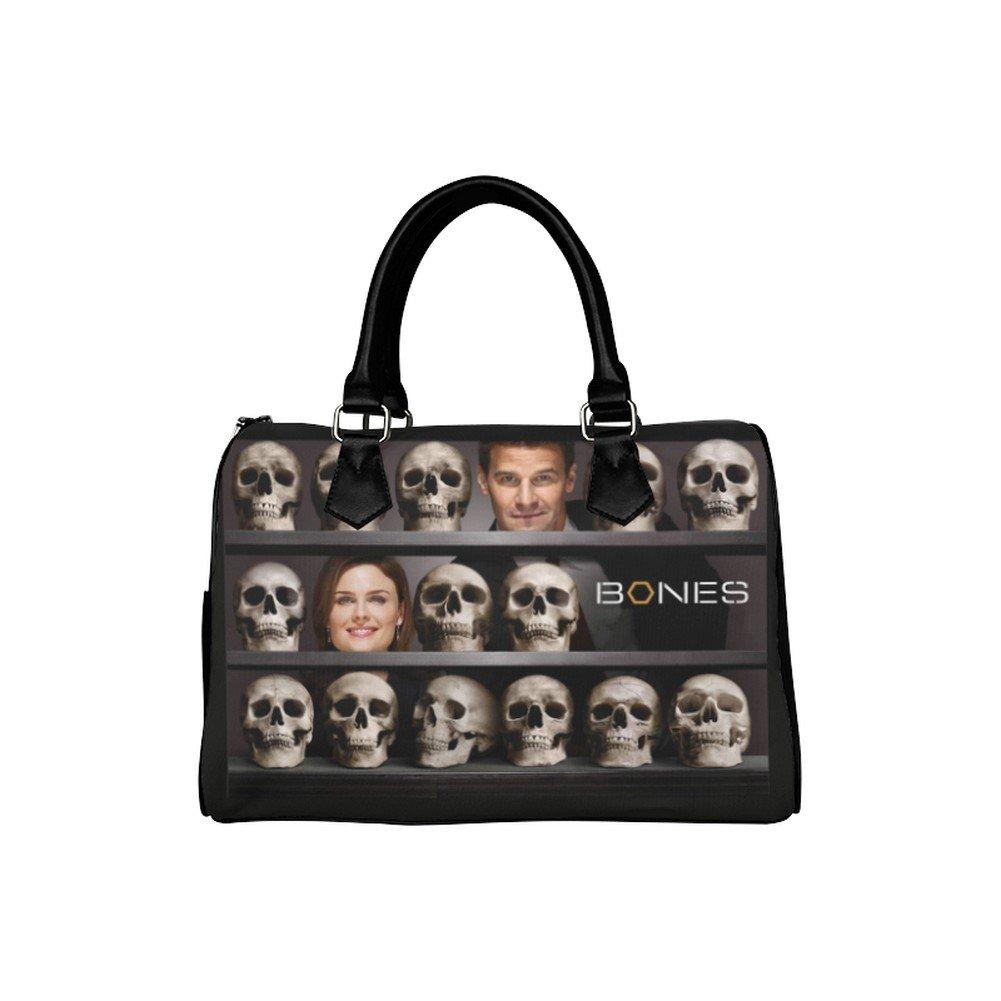 Bones Forensic Antropology Scientist Barrel Type Handbag Bag