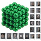 64pcs 5mm DIY Buckyballs Neocube Magic Beads Magnetic Toy Green