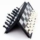 Portable Magnetic Folding Plastic International Chess Set Size S