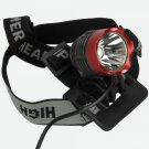 CREE XM-L T6 1200 Lumen LED Head Light Lamp Red