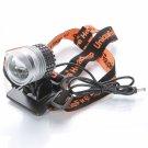BD10114 Cree XM-LU2 LED 1200 Lumen 3 Modes Extendable Bicycle Light Headlamp Silver