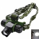 BD6064 Cree T6 LED 1200 Lumen 5 Modes Rotating Focus Headlamp Black