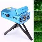 Sound Active DJ Dance Studio Mini Red & Green Laser Stage Lighting Blue