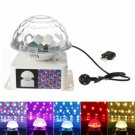 LED 4W RGB Lighting Color Magic Ball Light White (US/EU Standard Plug)