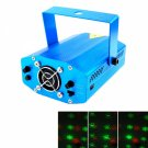 12-in-1 A-12 Red and Green Light Laser Beam Stage Lighting Blue