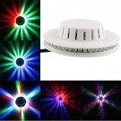 8W 48 LED RGB Mini Stage Light White (US/EU Standard Plug)