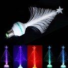 E27 3W RGB Fiber Optical Christmas Tree Home Decoration LED Stage Light (85-260V)
