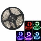 72W SMD5050 5m 300LEDs RGB Light Epoxy Waterproof LED Light Strip (White Lamp Plate) (12V)