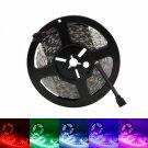 72W SMD5050 5m 300LEDs RGB Light LED Light Strip (White Lamp Plate) (12V)