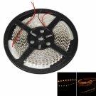 50W SMD3528 5m 600LEDs Orange Yellow Light LED Light Strip (White Lamp Plate) (12V)