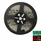 12V 5M 72W SMD5050 300LEDs RGB IR44 Epoxy Waterproof LED Light Strip Set (White Lamp Plate)