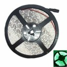 IP68 Waterproof 30W 3528SMD 5m 300LEDs 490-560nm Green Light LED Strip Light (DC 12V)