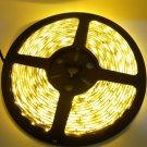 IP68 Waterproof 30W 3528SMD 5m 300LEDs 560-590nm Yellow Light LED Light Strip (DC 12V)