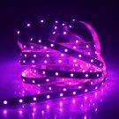 30W 3528SMD 5M 300LEDs 400-450nm Pink Light Decorative LED Strip Light (DC 12V)