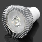 DB-CG102 G5.3 1W 6000-7000K 95LM White 1-LED Spot Light Bulb Silver & White (AC 89~265V)