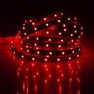 5M 30W 300-LED 3528 SMD 635-700nm Decorative Light Strip Red (DC 12V)