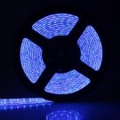 Double LED Light Bar 5M 90W 900-LED 3528 SMD Waterproof Blue Decorative Light Strip (DC 12V)
