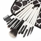 10pcs Top Grade Stone Grain Cosmetic Brush Kit
