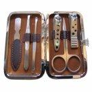 ES600 Metal Nail Trimming Manicure Tool Kit Silver
