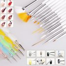 20PCS Nail Art Painting Pen Brush Nail Art Tool Dotting Painting Pens